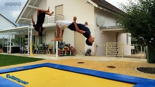 New Trampoline Tricks - Eurotramp Inground