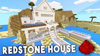 MCPE REDSTONE BEACH HOUSE - Minecraft PE (Pocket Edition)