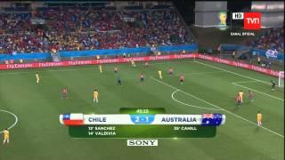 Chile v/s Australia  Brasil 2014 (Partido Completo)