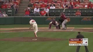 Clemson Baseball || College of Charleston Game Highlights - 4/25/17