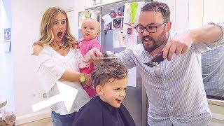Dad Cuts Son