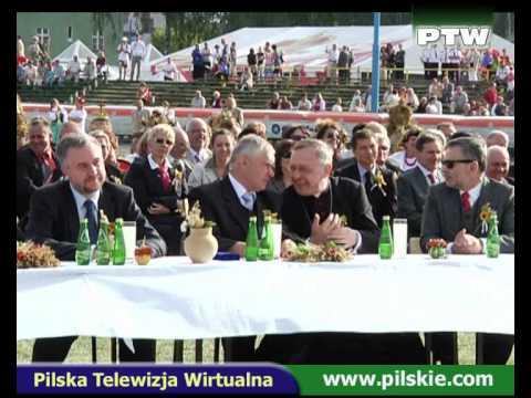 Piła dożynki 2009. Andrzej Piasek Piaseczny