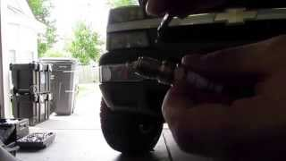 2004 Chevy Silverado 1500 Vortec 5.3L 4X4 Spark Plug and Wire Replacement