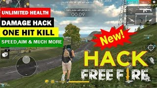 [Latest MOD] FREE FIRE 🔥 UNLIMITED HEALTH | DAMAGE HACK | OneHit 1 Shoot Kill | 1.19.2v