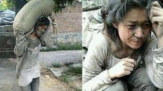 Bikin Haru..!! Dibalik Foto Gadis Mengangkat Semen Ini Ada Kisah yang Mengiris Hati..!!