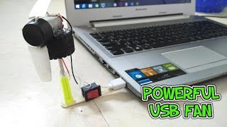 How to make a powerful USB fan