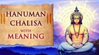 Hanuman Chalisa with Meaning   Jai Hanuman Gyan Gun Sagar   Hanuman Jayanti
