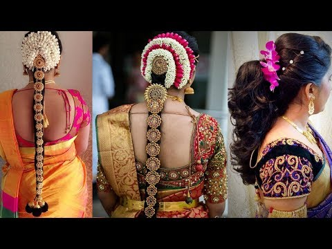 Xxx Mp4 Indian Bridal Hairstyles Step By Step Perfect For Wedding Top 3 Amazing South Indian Hairstyles 3gp Sex