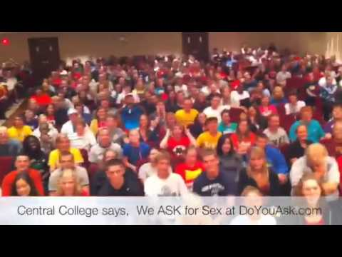 Central College says We Ask for Sex