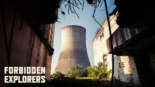 Sneaking Inside an Abandoned Nuclear Power Plant!