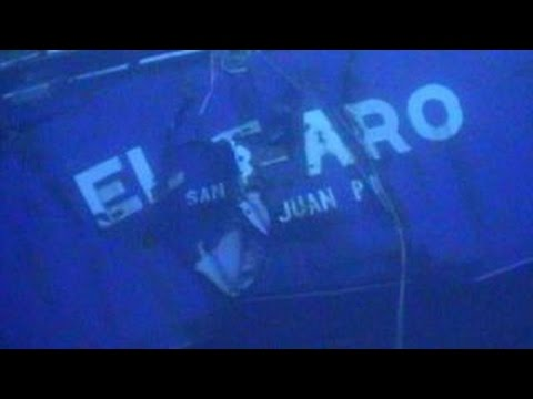 New images from cargo ship lost in Hurricane Joaquin