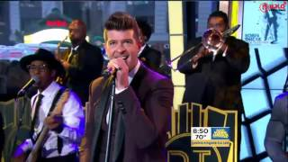 Robin Thicke: Back Together on Good Morning America (LIVE)