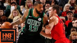 Boston Celtics vs Portland Trail Blazers Full Game Highlights / March 23 / 2017-18 NBA Season