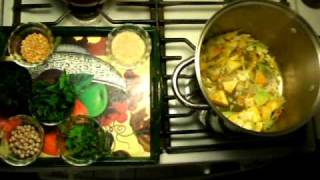 Cooking For Peace and Sometimes War with Yazherb  Herb Soup  10.6.09