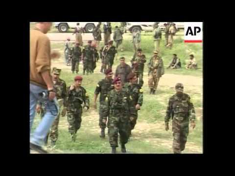 GWT: WRAP Peshmerga at abandoned Iraqi positions, village