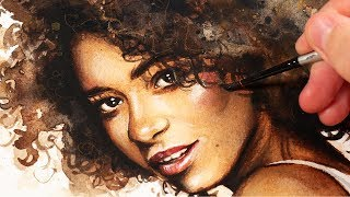 10 TIPS for Watercolor Portraits   HOW TO USE WATERCOLOR