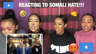 REACTING TO SOMALI HATE (WE HAVE NO FILTER😡😡!!!)