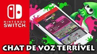 Nintendo Switch: Chat de voz é PIOR que imaginávamos | Explicação e opinião NINTENDO SWITCH ONLINE