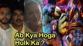 Avengers Endgame | Crazy Indian Fans | Thanos Vs Hulk Public Excitement