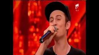Alexandru Petcu, compoziție proprie. Vezi aici cum cântă concurentul, la X Factor!