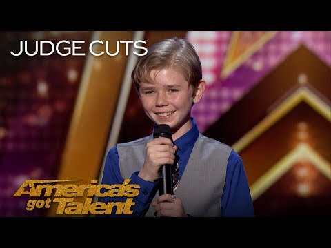Patches: 13-Year-Old Rapper Returns With New Original Rap - America's Got Talent 2018