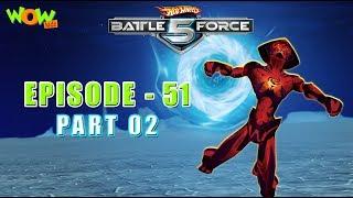 Motu Patlu presents Hot Wheels Battle Force 5 - Rumble in the Jungle - S2 E51.P2 - in Hindi