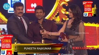 Puneeth Rajkumar - 'The Youth Icon of South Indian Cinema' @ SIIMA 2014