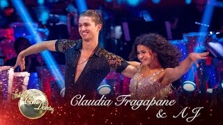 Claudia Fragapane and AJ Samba to 'Young Hearts Run Free' by Candi Staton - Strictly 2016: Week 5