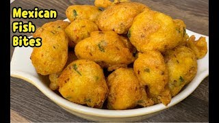 Mexican Fish Bites Recipe /New Fish Recipe /First Ever On YouTube By Yasmin's Cooking