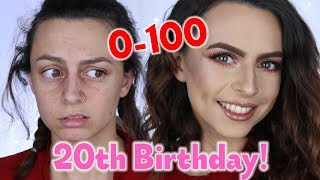 20TH BIRTHDAY GET READY WITH ME! 0-100! | Sophie Foster