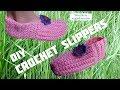 Download Video Download DIY Crochet Simple Adult Slippers (Heklane popke - pape) 3GP MP4 FLV