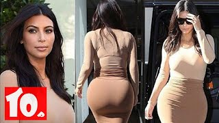 Top 10 Celebrities with Butt Implant