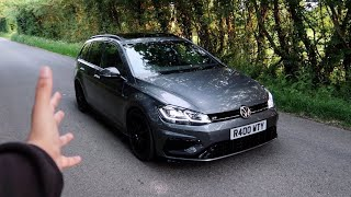 This 2018 VW Golf R *7.5* is Covered in Carbon Fibre! (Tuned)