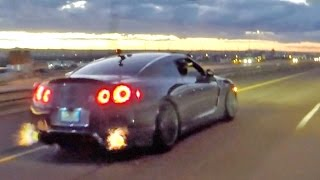 NM Street Racing!!! 1100hp Supra, GT-R, ZR-1 Corvette & Turbo BMW