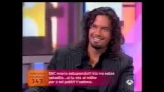 MARIO CIMARRO - DANNA GARCIA - entrevistas España 2005