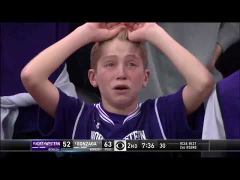 Crying Northwestern Kid After Refs Screw Northwestern With Terrible Call and Technical
