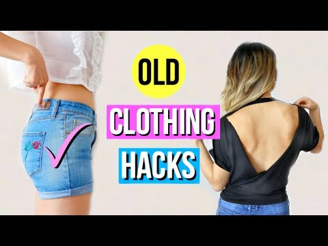 6 DIY Clothing Hacks To Try When You're Bored!