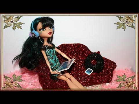 Как сделать планшет ,телефон и наушники для кукол.How to make a phone for dolls - YouPak.pk Largest Collection of HD Videos