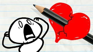 Pencilmate Finds Sweet LOVE! -in- Pencilmation VALENTINE