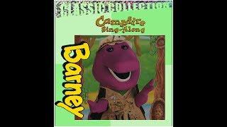 Barney's Campfire Sing-Along Lyrick Studios Custom 2000 VHS (BarneyBYGFriends 89 Version)