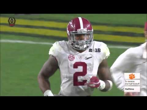 2016 National Championship Game 1 Clemson vs. 2 Alabama Highlights