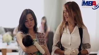 شوف فرحه زوجه احمد فهمي تمسك ابنها لأول مره بعد خروجها من المستشفي
