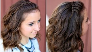 DIY Faux Waterfall Headband | Cute Girls Hairstyles