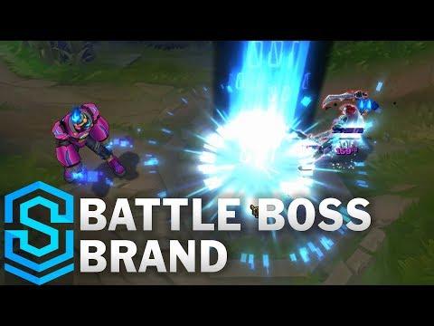 Battle Boss Brand Skin Spotlight - Pre-Release - League of Legends