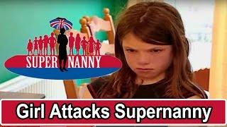 Young Girl Attacks Supernanny! | Supernanny USA