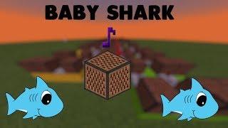 ♪ Baby Shark ♪ - Lagu Dari Noteblock (Minecraft Indonesia)