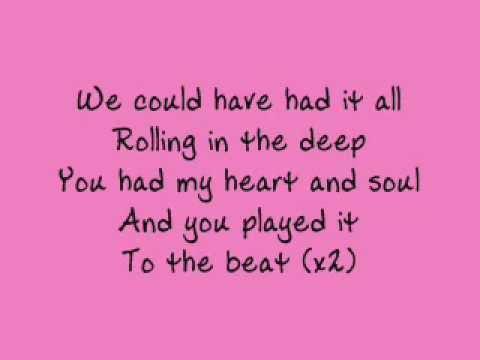 Xxx Mp4 Adele Rolling In The Deep Lyrics 3gp Sex
