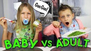 BABY FOOD vs ADULT FOOD