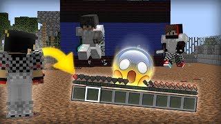 ماين كرافت :على وشك الموت ! - (وانا نص قلب ) ! | Minecraft