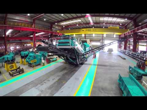 Powerscreen World Class Manufacturing in Hosur, India